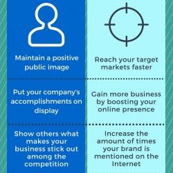 Infographic explanation of key differences between Digital (PR) Public Relations and Digital Marketing. Comparison of digital PR and digital marketing