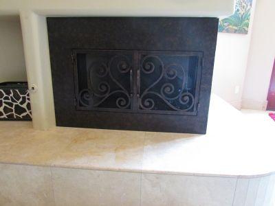 call the Fireplace Door Guy! | L-Shaped Doors | Pinterest | Fireplace doors