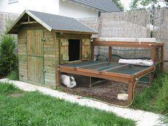 Kinderspielhaus Als Kaninchengehege Umbauen Kaninchen