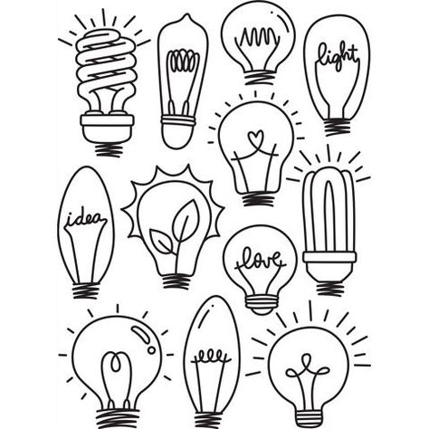Brighten up cards and scrapbooks using this lightbulbs embossing folder. From fluorescent to Edison bulbs, these designs add intensity to your projects.