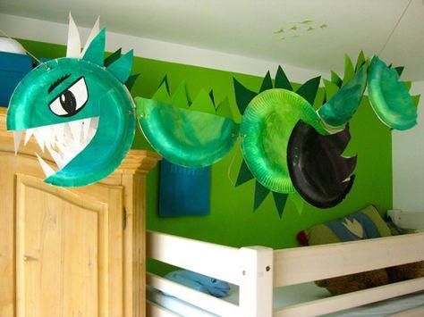 pappteller drache 1