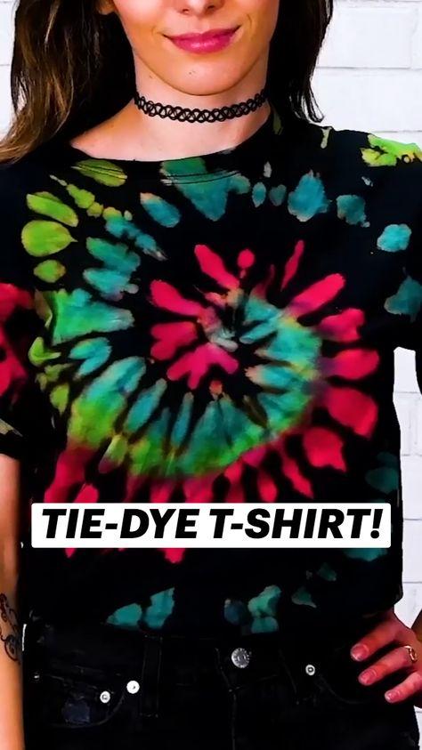 TIE-DYE T-SHIRT!