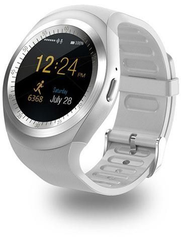 Y1 Smart Watch Rubber Band For Android,White - Y1-001
