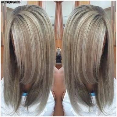 Image Result For Ash Blonde Highlights And Ash Brown Lowlights