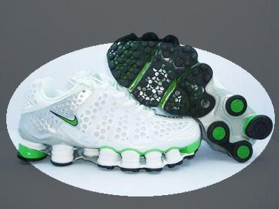outlet store c932f 69b2a Nike Shox TL3 White-Green Women's style | Men's Sneakers in ...