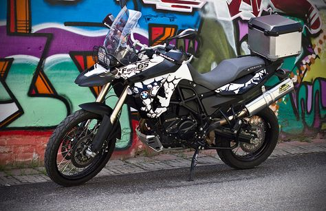 BMW F GS Wrap BMW F GS Wrap Pinterest BMW - Vinyl skins for motorcycles