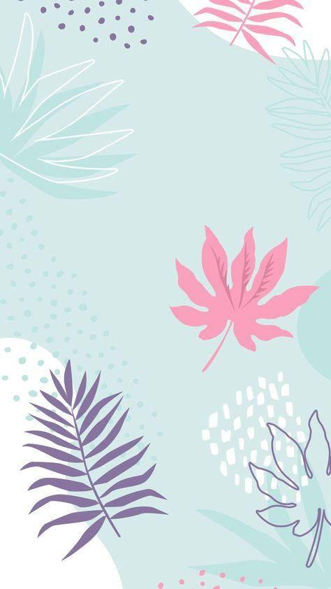 Best Wallpaper Iphone Cute Girly Wallpapers 35 Ideas Floral Wallpaper Pastel Background Wallpapers Blue Floral Wallpaper