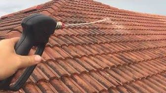 Roof Tile Cleaning Services In 2020 Concrete Roof Tiles Roof Cleaning Cleaning Gutters