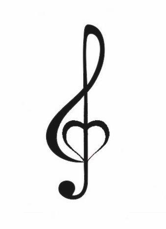 Disegno Tattoo Chiave Di Violino Jpg 339 469 Tatuaggi Musica Disegni Musica Tatuaggi Con Nota Musicale