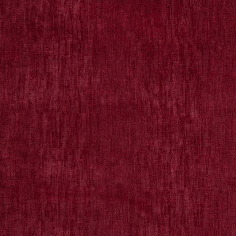 Designer Fabrics 54 in Red Solid Plain Velvet Automotive Upholstery Velvet
