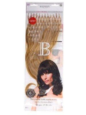 Balmain Fill In Soft Rings The Fill-In Extensions zijn gemaakt van hoge kwaliteit 100% Human Hair. Extentions worden met uw natuurlijke haar verbonden door middel van een klein bondje. #extensions