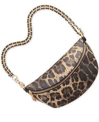 Adaptar grado fuerte  Steve Madden Macy Convertible Belt Bag Handbags & Accessories - Macy's  #macyswomensbags | Riñonera