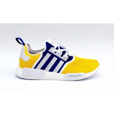 Adidas NMD R1 Custom White Golden State