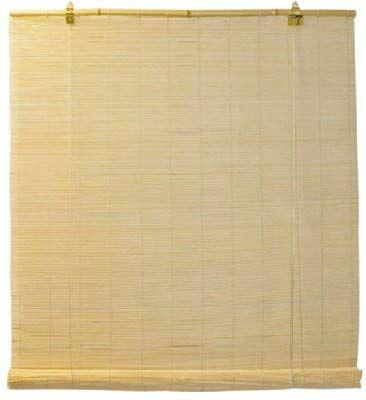 Natural Bamboo Matchstick Roll Up
