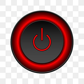 Power Off Rounded Button Design Vector Design New Free Download Png And Vector With Transparent Background For Free Download Free Vector Graphics Abstract Cloud Button Design