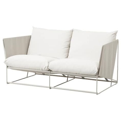 Ikea Havsten Loveseat In Outdoor Affordable Sofa Love Seat Affordable Outdoor Furniture