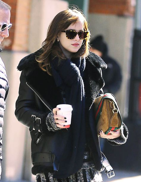 Everything about this outfit is perfect- Dakota Johnson