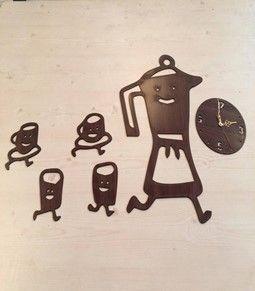 ساعة مطبخ مصنوعة من ال Mdf سماكة 3 مم اللون أسود أو بني أو بيج حسب الطلب ساعات الحائط ليست فقط لإخبار الوقت ولكنها سرعان ما أصبحت Character Charlie Brown Brown