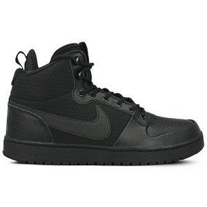 Buty Nike Court Borough Mid Winter Black Sneaker All Black Sneakers Nike