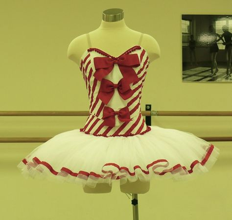 Ballet Costumes from Frills and Sprinkles: Candy Cane