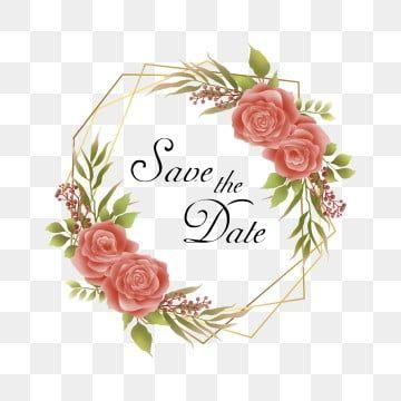 Gambar Bingkai Bunga Gaya Air Untuk Hiasan Undangan Perkahwinan Rangka Bingkai Perkahwinan Bunga Png Dan Vektor Untuk Muat Turun Percuma Bingkai Bunga Bunga Bingkai