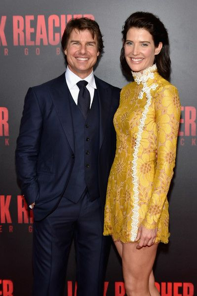 Tom Cruise and Cobie Smulders attend the 'Jack Reacher: Never Go Back' Fan Screening.