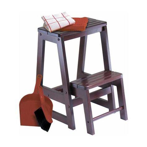 Winsome Wood 94022 Folding Step Stool | *Ladders u0026 Scaffolding u003e Step Stools* | Pinterest | Winsome wood Stools and Woods  sc 1 st  Pinterest & Winsome Wood 94022 Folding Step Stool | *Ladders u0026 Scaffolding ... islam-shia.org