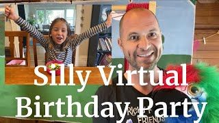 Virtual Kids Birthday Party Ricky Roo Friends Puppet Shows Kids Birthday Party Entertainment Kids Birthday Party Kids Birthday