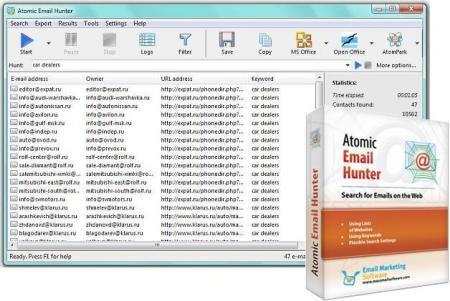 Atomic Email Hunter 14 4 Download Free Full Version Atom
