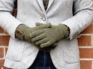 Free glove pattern by Rebecca Blair