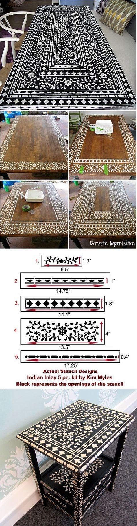 Craft and Furniture Stencils