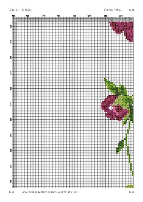 Chinese Cross Stitch Pattern Peonies Digital  DIY Instant Download  PDF Needlepoint Home D\u00e9cor Embroidery Chart DMC X-stitch