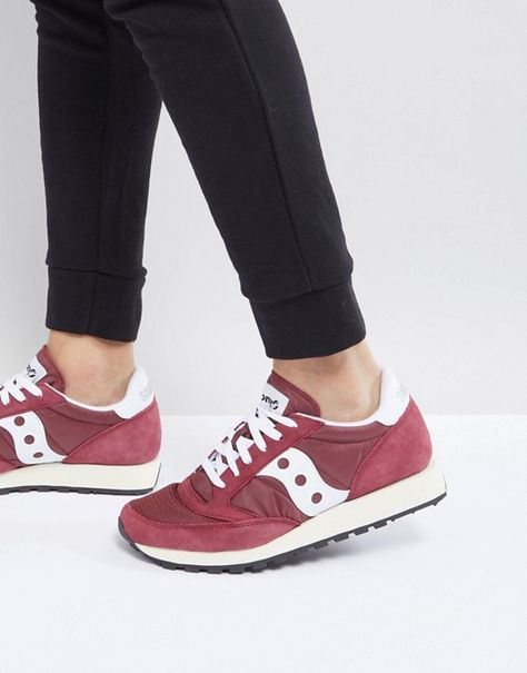 finest selection 7ad66 e08bb Saucony   Saucony Jazz Original Sneakers In Red S70368-11