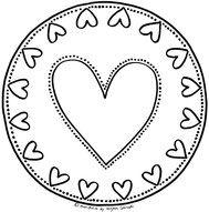 Mandala Vorlage Fur Kleinkinder Nr 11 Mandalas Zum Ausdrucken Mandalas Kinder Mandalas Zum Ausmalen
