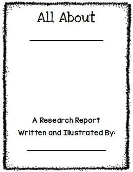 Research Report Template Book Writing Template Research Report