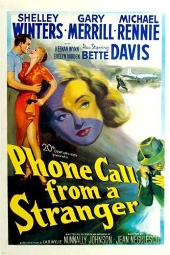 BETTE DAVIS shelly winters PHONE CALL FROM A STRANGER movie poster 24X36 HOT