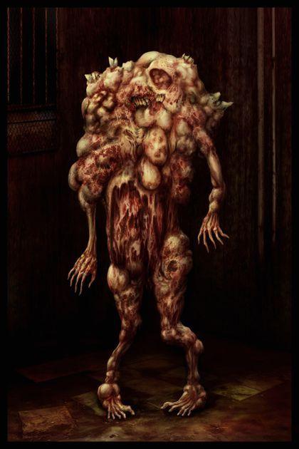 Como Acabar Con Las Viboras Monstruos Que Podrian Ser De Silent Hill Arte Conceptual De