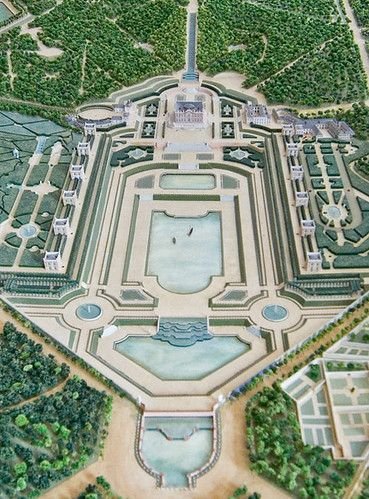 Marly Landscape Design Plans Chateau France French Garden