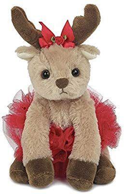 Amazon Com Bearington Darling Dancer Holiday Plush Stuffed Animal