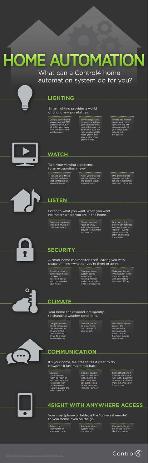 What Can a Control4 Home Automation System Do For You? | Blog | Control4