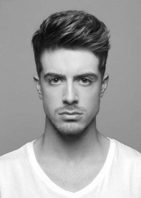 Trend Kurzhaarfrisuren Männer Dickes Haar
