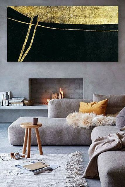 Contemporary Fireplaces Minimalist Living Room Sofa Buying