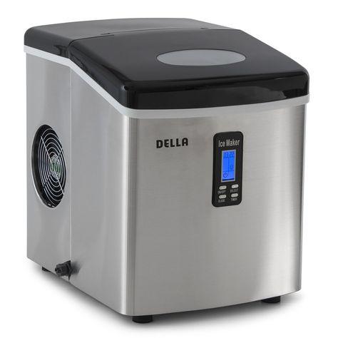 Della 048 Gm 48292 Electric Ice Maker Machine Counter Top Timer