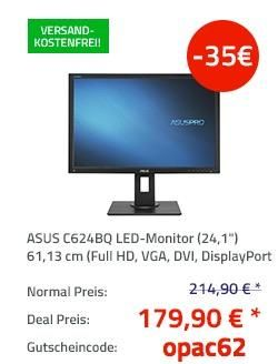 Asus C624bq 24 1 61 13 Cm Led Monitor Mit Lautsprecher Led Computer Und Lautsprecher