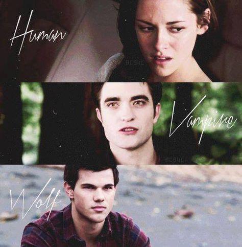 Human Vampire Wolf