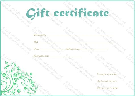 Jewellery gift certificate template image collections printable gift certificate template gift certificate templates printable gift certificate template gift certificate templates rh8y699i diy yadclub Images