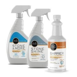 Stone Care Marble And Granite Countertop Sealing Cleaning Kit
