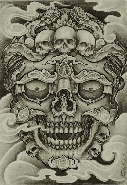 Your Safe Place Has Been Invaded Tattoos Skull Tattoo Design Tibetan Tattoo