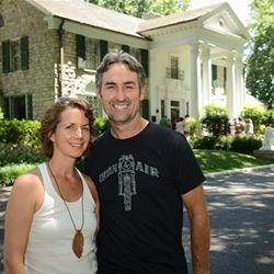 American Pickers Star Mike Wolfe And His Wife With Images