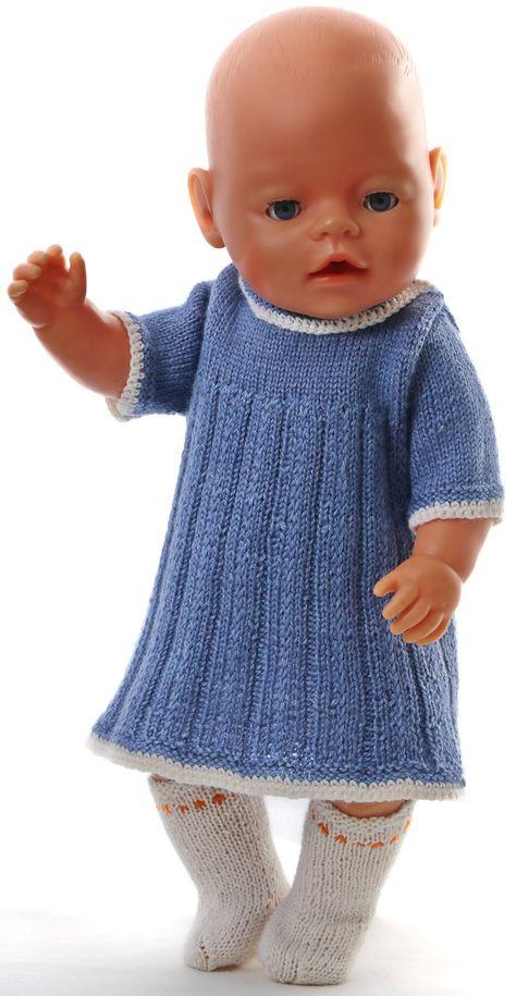 baby born kläder mönster